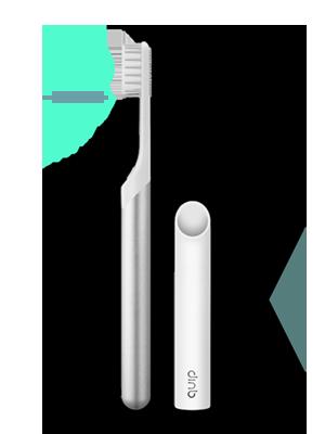 Quip store product starter brush plan yr plan silver 300x400